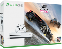 Microsoft XBOX ONE S 1TB Biela + Forza Horizon 3 Hra Screamride za 1 cent !