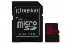 Kingston MicroSDHC 32GB Class U3 UHS-I V30 A1 (r100MB,w70MB)