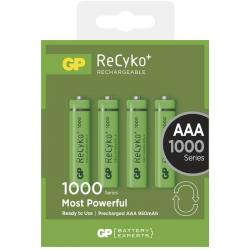 GP ReCyko+ HR03 (AAA) 950mAh 4ks