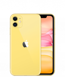 Apple iPhone 11 256GB Yellow  + VYHRAJ PEUGEOT 208