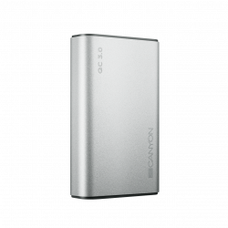Canyon 10000 mAh Quick Charge 3.0 Power Delivery strieborný