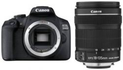 Canon EOS 2000D + EF-S 18-135mm IS + 30€ CASHBACK