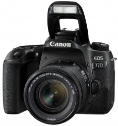 Canon EOS 77D EF-S 18-55mm f/4-5.6 IS STM + 100€ CASHBACK