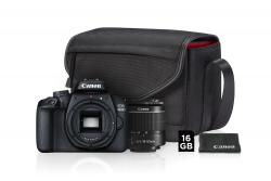 Canon EOS 4000D + EF-S 18-55mm DC Value Up kit (brašna + 16GB SDHC karta) +16GB pam. karta za 1 cent