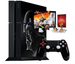 Sony PlayStation 4 1TB LIMITED čierna +Star Wars Disney Infnity 3.0