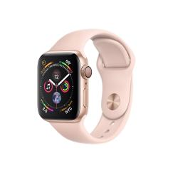 Apple Watch Series 4 GPS, 40mm Gold Aluminium Case with Pink Sand Sport Band