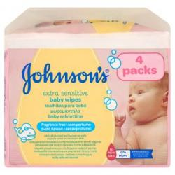 Johnson's b wipes Extra Sensitive
