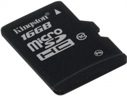 Kingston MicroSD(HC) 16 GB Class 10