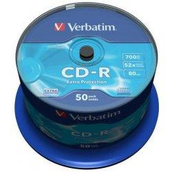 Verbatim CD-R 50ks, 700MB 52x