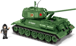 COBI World of Tanks T-34/85, 500 k, 1 f  + VYHRAJ PEUGEOT 208