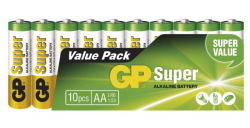 GP Super LR6 (AA) 10ks