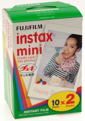 Fujifilm Instax MINI 2x10list