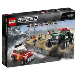 LEGO Speed Champions Mini Cooper S Rally a 2018 MINI John Cooper Works Buggy