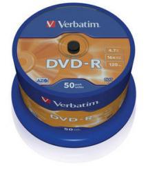 Verbatim DVD-R 50ks, 4.7GB 16x
