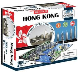 4D Cityscape 4D Puzzle Time Panorama Hong Kong