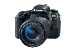 Canon EOS 77D+18-135 IS USM Value Up kit (brašna + 16GB SDHC karta + čistiaca handrička) +16GB pam. karta za 1 cent + 100€ Cashback