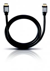Oehlbach Black Magic HDMI Cable w. Ethernet 0,75m