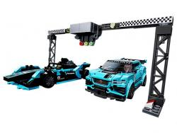 LEGO Speed Champions Formula E Panasonic Jaguar Racing GEN2 car & Jaguar I-PACE eTROPHY