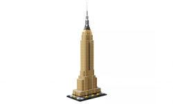 LEGO Architecture Empire State Building  + VYHRAJ PEUGEOT 208