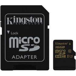 Kingston MicroSDHC 16GB U3 UHS-I (r90MB,w45MB)