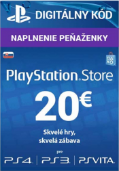 Sony PlayStation Live Cards 20 EUR - SK Store