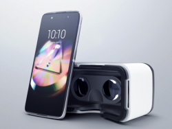 Alcatel IDOL 4s 6070K + VR BOX šedý