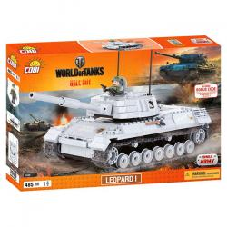 COBI World of Tanks Leopard I 485 k, 1 f
