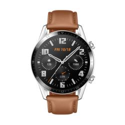 HUAWEI Watch GT2 Brown Leather Strap