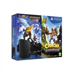 Sony Playstation 4 500GB + Crash Bandicoot + Ratchet&Clank