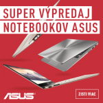 SUPER VÝPREDAJ NOTEBOOKOV ASUS