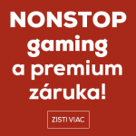 NONSTOP Gaming a premium záruka HP!
