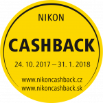 Nikon CASHBACK až do 175€
